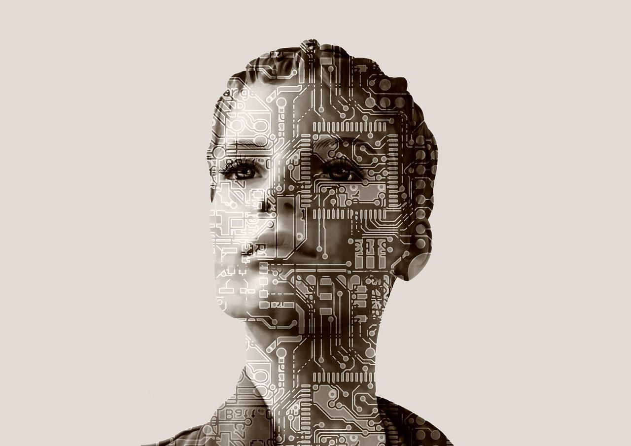 Intelligence artificielle Crédit photo Pixabay BY CC - Géralt